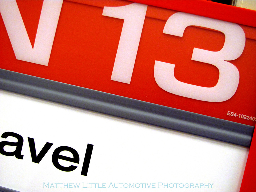 01-13-10  It is no mystery what number will be showing up from day to day...just where I will find it.  This is an isle marker from Target.