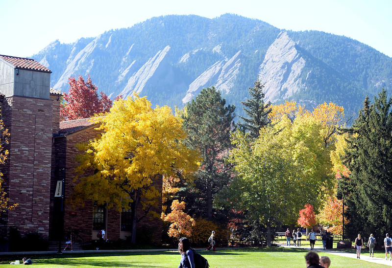 Fall Days on the CU Campus