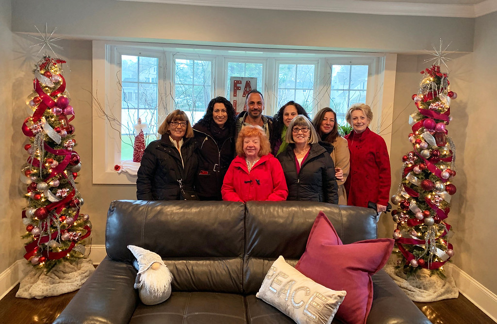 . Decorator and designer Mark Caputo, founder of MC Lifestyle, with his harem tour the Norman B. Reed House.
