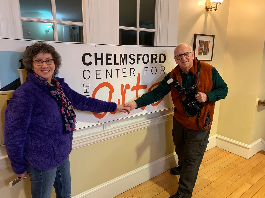 . Celia Diako of Peabody and Bob Stegmaier of Chelmsford