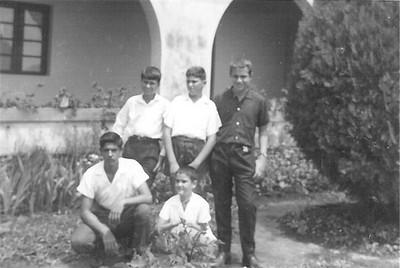Zé Manel Pinho Barros, ?,Armando Ferreira, Chico Braziel e Joca Fontinhas