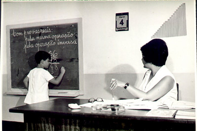Sra do Dores e aluno (José Manuel Carreira)