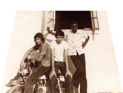 LICEU DO CHITATO 1973-1974 Antonio Joaquim, David Luna de Carvalho e Quim Macedo