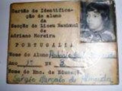Portugalia -Aluno do Liceu Nacional Adriano Moreira