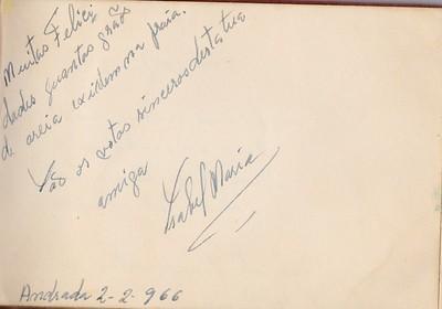Isabel Pinto Soares Andrada 2 de Fevereiro 1966