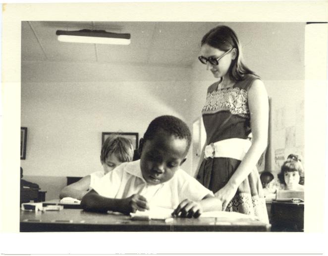 1972 Dundo- Melita Correia de Oliveira - professora primaria nas escolas da Missao.
