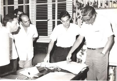 Escritório do Director Geral - Jorge Viegas Prudente, Braga, Fortes, Viegas