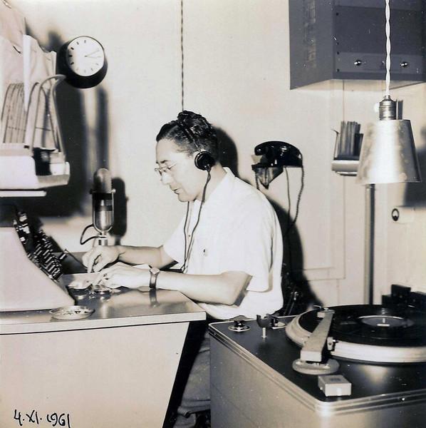 Radio Diamang Dundo 4/11/1961 Moreira Rato