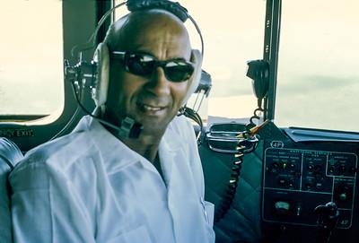 No Skyvan - Comandante Valente