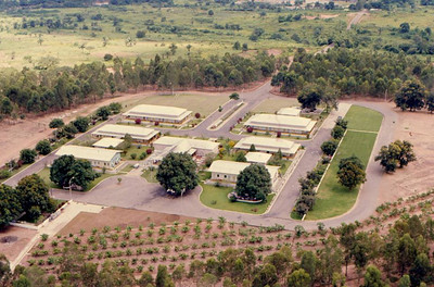 Hospital do Sacavula - vista aerea