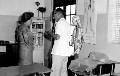 Dundo, esqueleto, Dezembro 1964