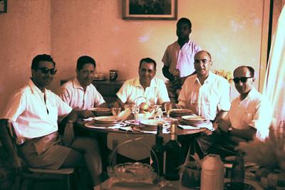 Dundo 1961  Albuquerque Matos, Dr Ramos, Neves, Reinaldo de Almeida, Rocha Afonso