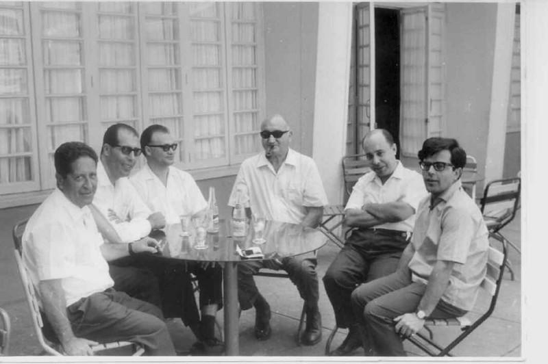 Dr. Ramos, Dr. João Novo, Dr. Ernesto Ferreira, Dr. Reinaldo de Almeida ?, Dr. Pinto Sousa,  Dr. David Bernardino