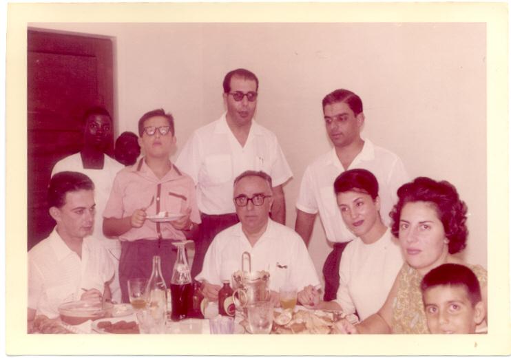Familia do Dr. Novo e Familia do Dr. Jorge Monteiro
