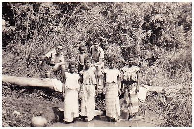 Rio Chicapa - Manuel Ermida ( a' direita) e...?
