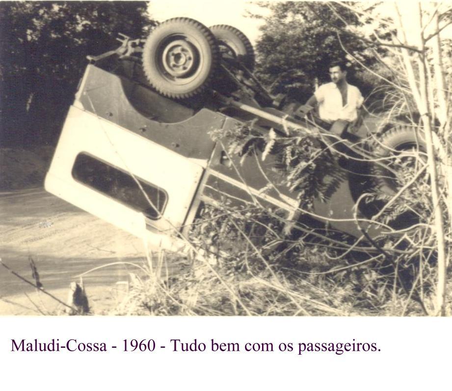 Acidente dum Land Rover 1960
