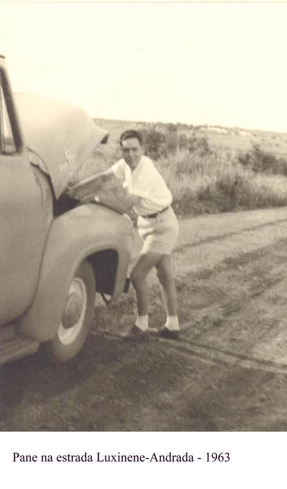 Pane na estrada, Andrada - Luxinene, 1963 Dias Mendes