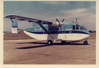 O primeiro Skyvan da Diamang - Lima Juliette Foxtrot.