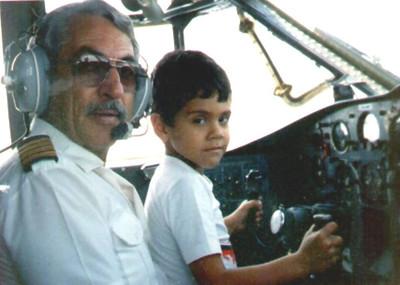 Comandante Sergio  e neto Andre' Mendes