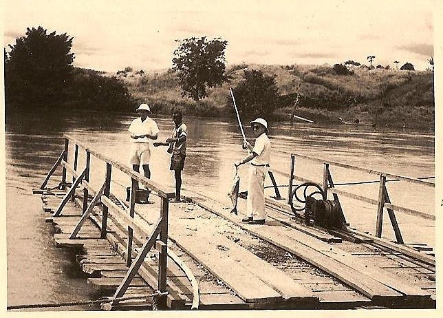 Julio da Conceicao pescando