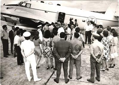 Aeroporto do Chitato - Avião das Forças Armadas