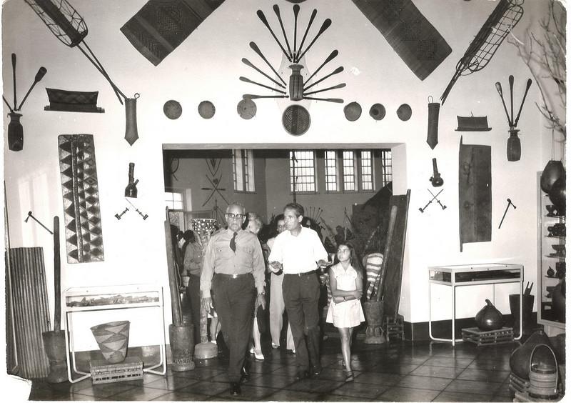 Museu do Dundo - General, Fontinha e Leonor Mello-Breyner
