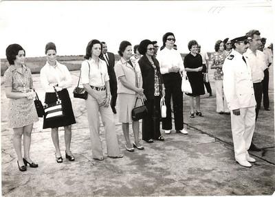 Aeroporto do Chitato - Isabel Viegas, Lopes, Olinda Monforte, Celeste Pedro Alves,eng. Faria, Administrador Garraio