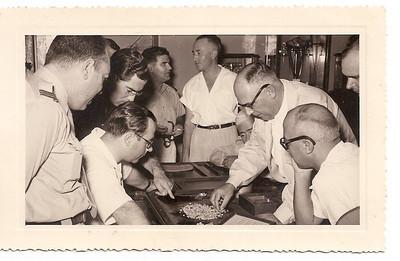 Junho 1954 - Visitas na Picking