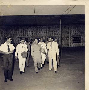 Junho 1954 - Presidente Craveiro Lopes visita Diamang