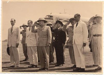 Chitato- Junho 1954- chegada do presidente Craveiro Lopes