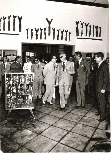 Visita do Governador Geral de Angola, Dr. Santos e Castro Viegas, Abecassis, Fontinha