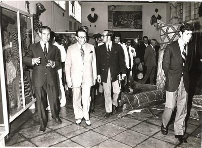 Visita do Governador Geral de Angola Fontinha, governador Dr. Santos e Castro, Lopes
