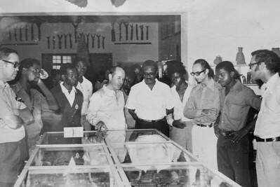 Agostinho Neto  no Museu do Dundo maio 1975