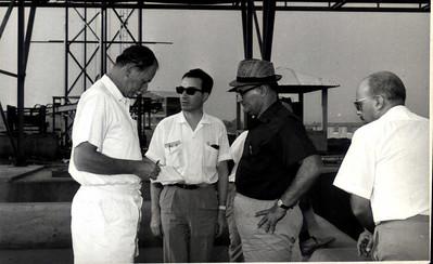 Eng. Ralph Daniel, Daniel Casasnovas, Eng. Matos, Melo Abreu