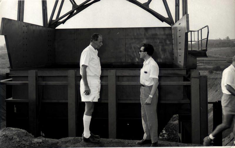 Casasnovas e Eng. Ralph Daniel