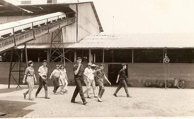 Estudantes do Dundo visitam as minas