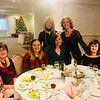 Lovely ladies enjoy the tea