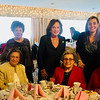 Seated, from left, Alice Danas and Olga Laganas of Lowell, Eva Dukakis of Chelmsford and Gertrude Kitenda of Lowell; standing, Christine Stamos of Tyngsboro, Patti Dukakis of Natick and Georgia Genna of Westford