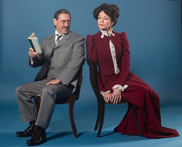 David Breitbarth and Kate Hampton in Asolo Rep's production of A DOLL'S HOUSE, PART 2. Photo by John Revisky.