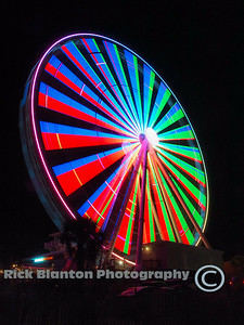 Neat long exposure of the Skywheel