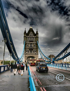 """ Walking Along the Tower Bridge """