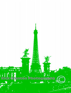 """ Paris in Green """
