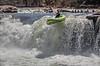 Mike Williams R1 boofing Wonder Falls, Lower Big Sandy, WV, 4-8-18