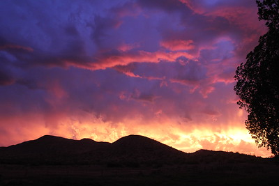 The Owyhee sky is on fire! - Idaho