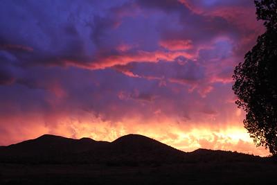 The Owyhee sky is on fire! - Idaho