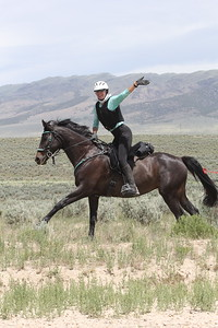 Fun in the saddle at City of Rocks endurance ride, Idaho