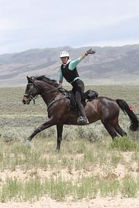 Fun in the saddle at City of Rocks endurance ride, Idaho