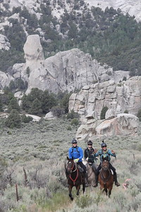 City of Rocks endurance ride, Idaho