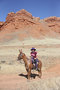 Nancy Sluys and her mule Danny tackle the Big Horn 100 endurance ride, Wyoming
