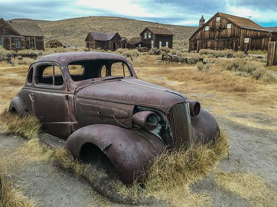 A GHOST TOWN CALLED BODIE  OCTOBER 2016